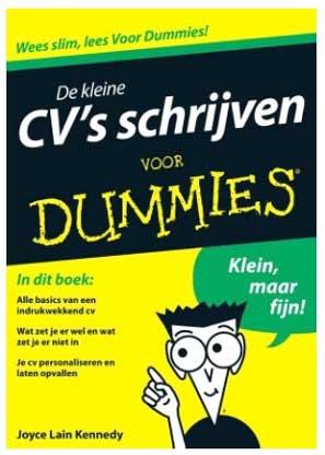 cv schrijven voor dummies boek